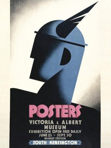 Posters - V&A Exhibition by Austin Cooper