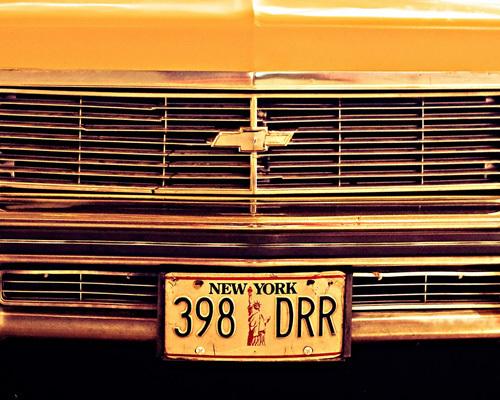NY Taxi by Keri Bevan