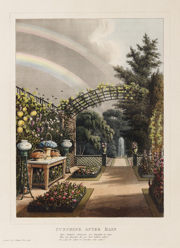 Sunshine After Rain by Humphry Repton
