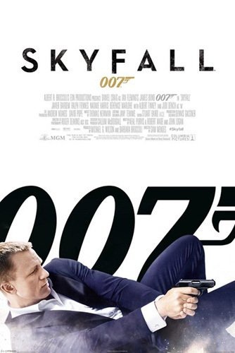 James Bond - Skyfall (White) by Anonymous