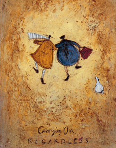 Carrying On Regardless Art Print By Sam Toft At King Amp Mcgaw