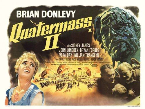 Quatermass 2 by Hammer