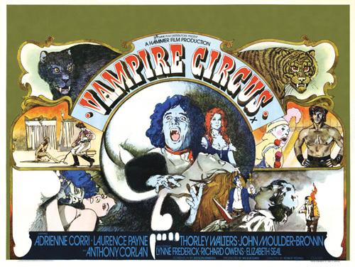 Vampire Circus by Hammer