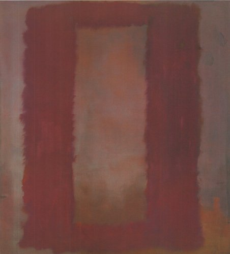 Red on Maroon by Mark Rothko