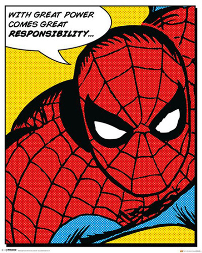 Spider-Man - Quote by Marvel Comics