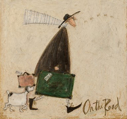 On The Road by Sam Toft