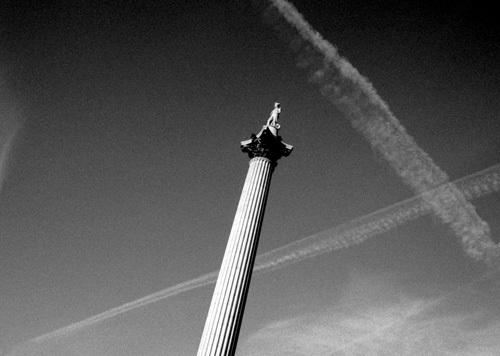 Fly-past, Nelson's Column by Niki Gorick