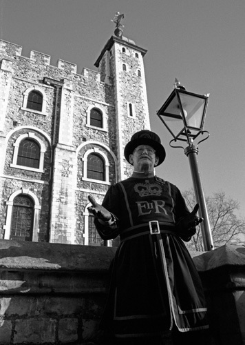 Taking the tour, Tower of London by Niki Gorick