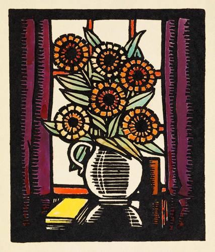 Marigolds by Winifred Gill