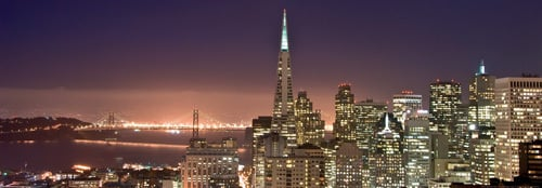 San Francisco at Night by Can Balcioglu