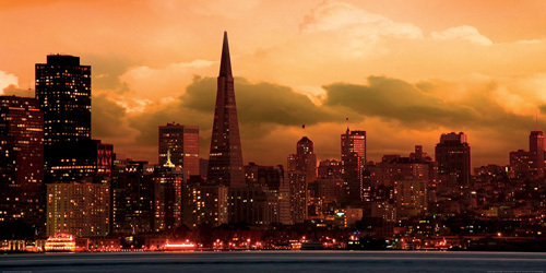San Francisco Skyline by Icarus66
