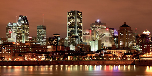 Montreal Skyline at Night by Vlad Gheia