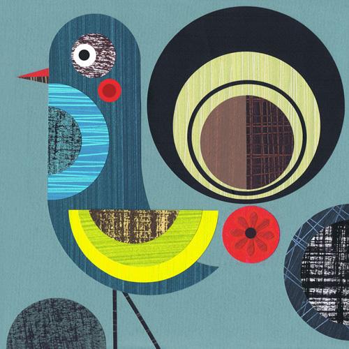 Prowd Bird by Ellen Giggenbach