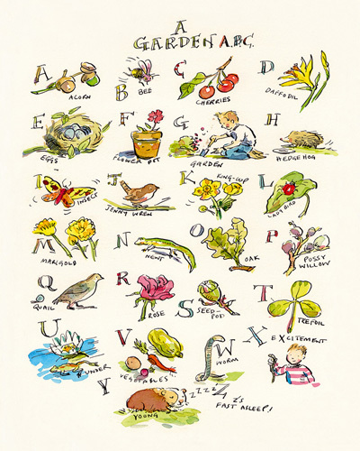 A Garden ABC by Claire Fletcher