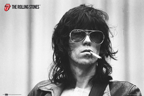 The Rolling Stones - Keith Richards by Anonymous