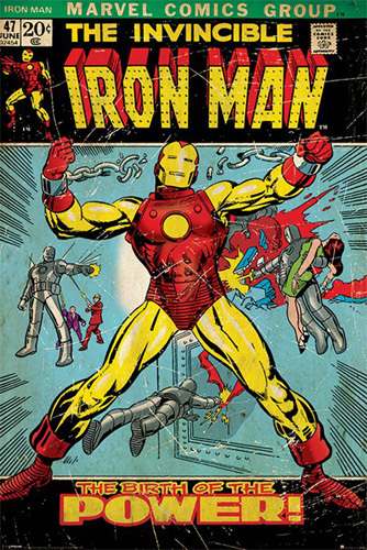 Iron Man - Birth of Power by Marvel Comics