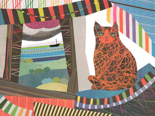 Window Cat by Jane Robbins