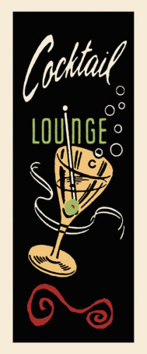 Cocktail Lounge by Retro Series