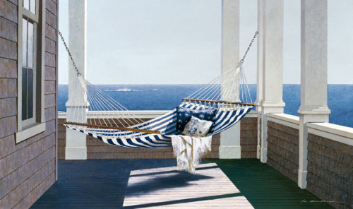 Striped Hammock by Zhen-Huan Lu