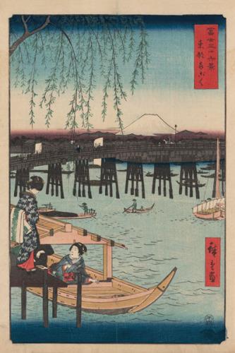Ryogoku by Utagawa Hiroshige