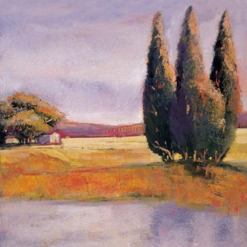 Sunset Cypress by Adina Langford