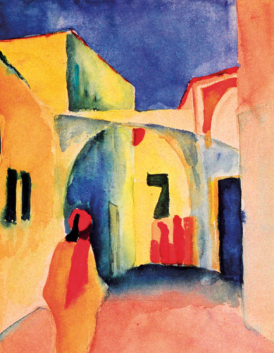 The Casbah by August Macke
