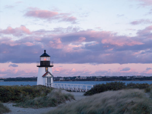 Brant Point Light by Paul Rezendes