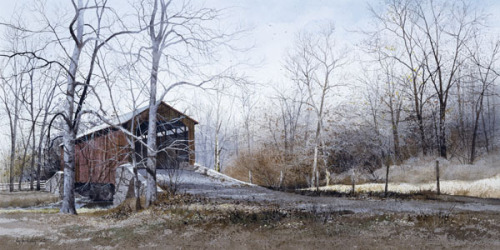Kissin' Bridge by Ray Hendershot