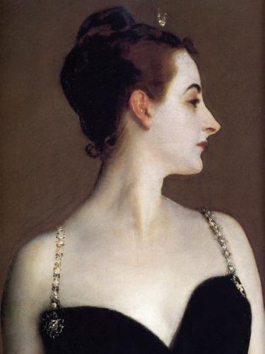 Madame X (detail) by John Singer Sargent
