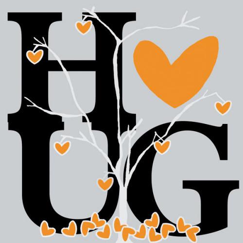 Hug (Fall) by Erin Clark