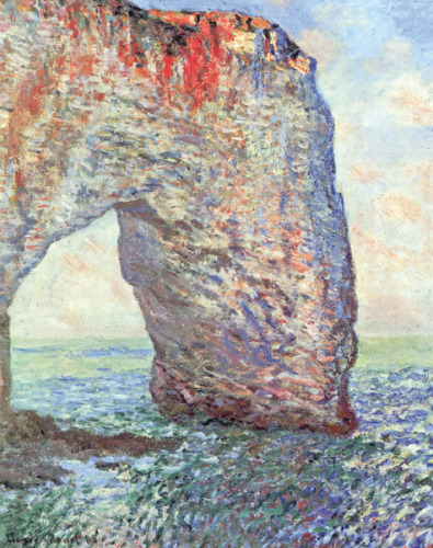 The Manneporte near Etrat, 1886 by Claude Monet