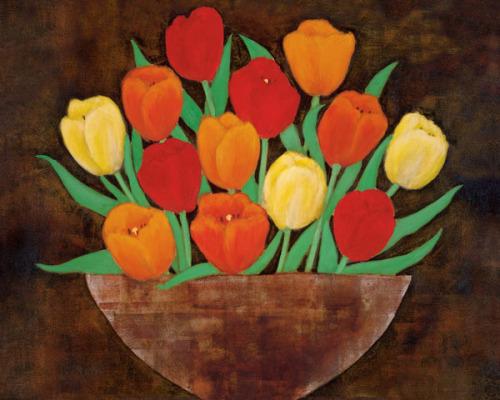 Tasteful Tulips by Rachel Rafferty