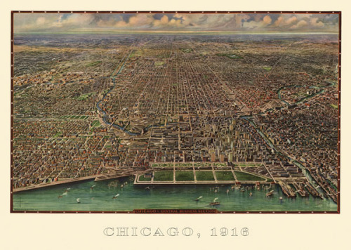 Chicago 1916 by Reincke