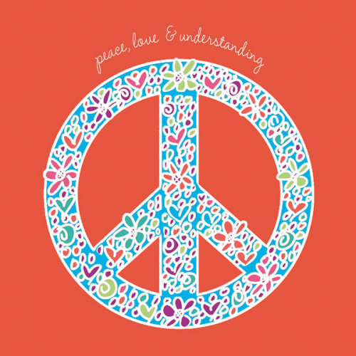 Peace, Love, and Understanding by Erin Clark