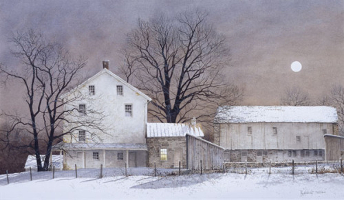 Full Moon by Ray Hendershot