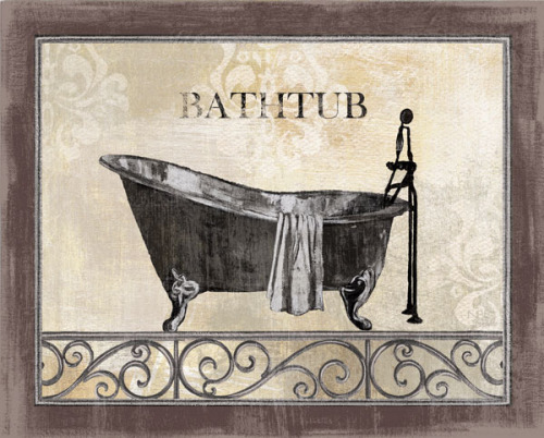 Bath Silhouette II by NBL Studio