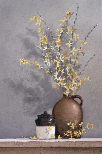 Forsythia by Ray Hendershot