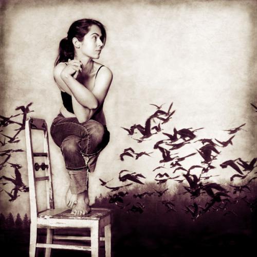 Garudasana by Janik