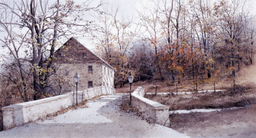 The Mill Bridge by Ray Hendershot