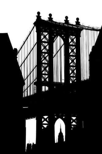 DUMBO Silhouette by Erin Clark
