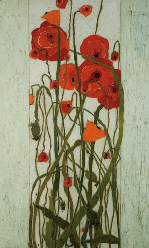 Poppy Garden by Karen Tusinski