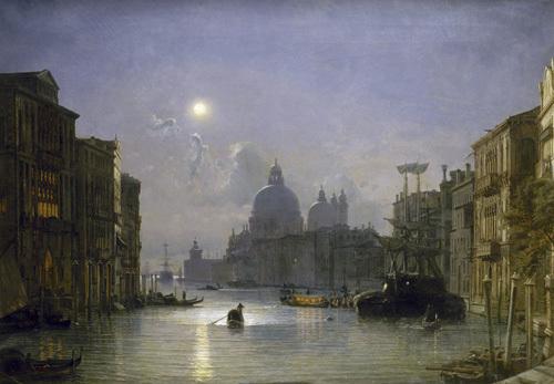 San Salute, Venise by Friedrich Nerly