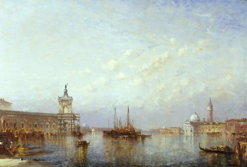 Glory of Venice by Felix Francois Georges Philibert Ziem