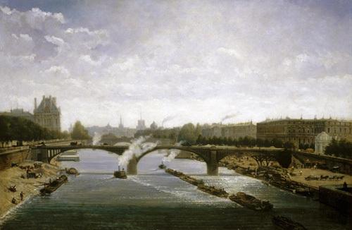 Le Pont de Solferino, Paris by Enric de Rossi-Gazzoli