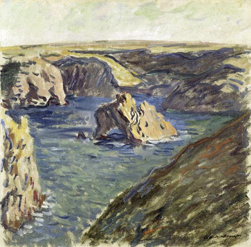 Belle-Ile, 1886 by Claude Monet