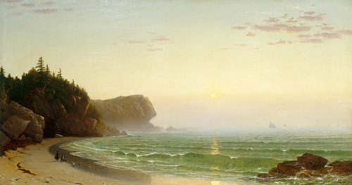 Seascape: Sunset by Alfred Thompson Bricher
