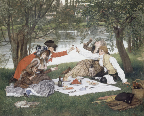 Partie Carree by James Jacques Joseph Tissot