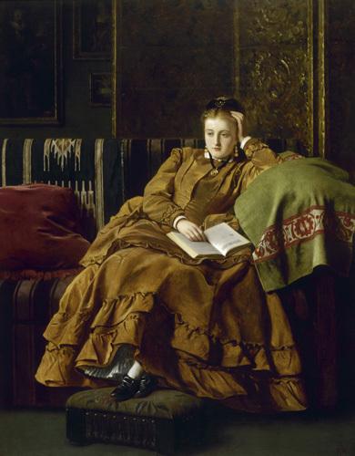 Reflection, 1871 by Francis John Wyburd
