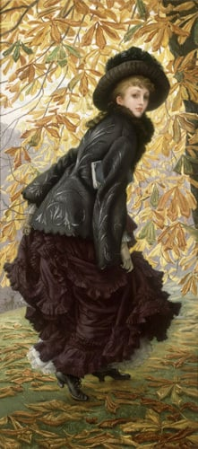 October, 1878 by James Jacques Joseph Tissot