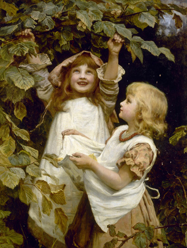 Picking Berries by Frederick Morgan